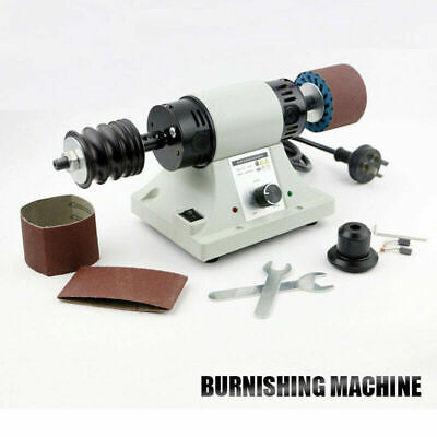 220V 8000RPM Leather Polishing Burnishing Machine Leather Edge Grinding Kit 350W