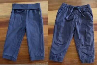 Two Boys Size 1 Navy Blue Pants by ESPRIT & Pumpkin Patch in Excellent Condition