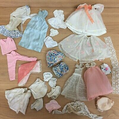 Vintage Barbie Sindy Tressy Other Clone Doll Clothes Bundle Dress Skirt Pants...