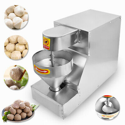 110V Commercial Meatball Maker Machine Pork Fish Beef Meatball Making Machine