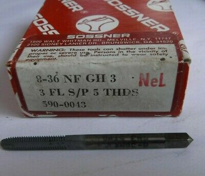 8 36 NF Tap Sossner GH3 Spiral Point 5 thread lead