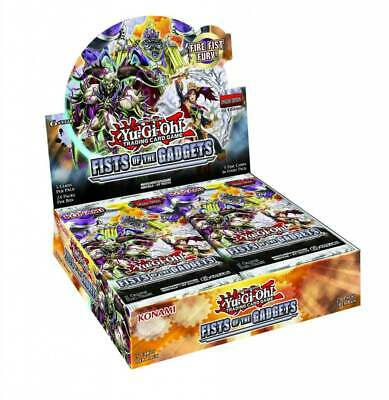 YU-GI-OH! - TCG - Fist of the Gadgets 5 x foil card Booster Box PREORDER