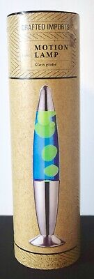 Crafted Imports Lava Lamp - Blue/Green