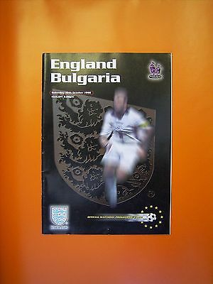 UEFA European Championship Qualifier - England v Bulgaria - 10th October 1998