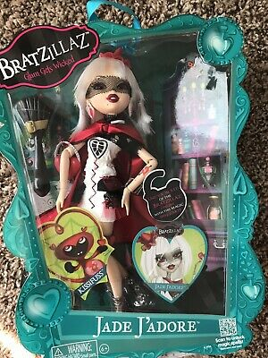 MGA BRATZ JADE J'ADORE Bratzillaz Glam Wicked Fashion Blond Hair Doll in Box NIB