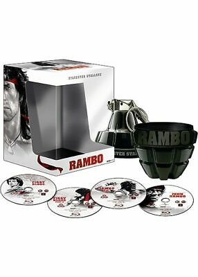 """Coffret collector Rambo L'intégrale - Blu-Ray - Edition Limitée """"Grenade"""" neuf"""