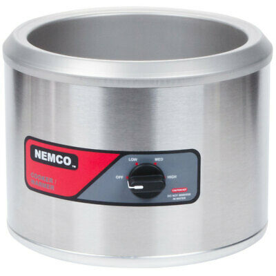NEMCO 7 Qt Round Electric Food Warmer Model 6100A