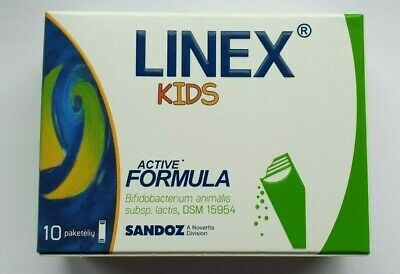 Linex Kids-Oral suspension-Maintain a balance of intestinal microflora-10 sachet