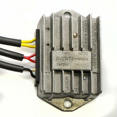 Electronic Voltage Regulator & Rectifier - Ducati & Moto Guzzi EDL450-VoltRect