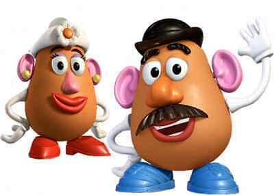 Mr And Mrs Potato Toy Story  Vinyl Wall Sticker Various Sizes