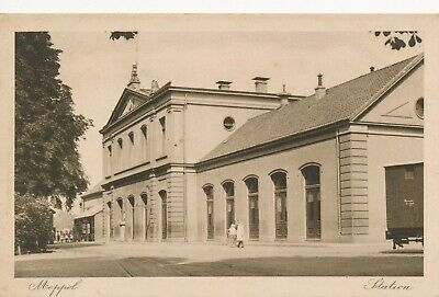CPA - Pays-Bas - Meppel - Station