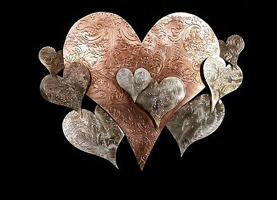 Metal Wall Art - Heart Cloud #1575 Steampunk Vintage Housewarming Gift Christmas