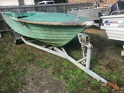 Boat Trailer with free (must take the boat) 18fT Boat, need gone asap!!!!!!!!!