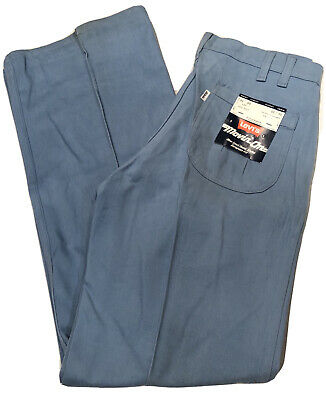"Vintage Blue""Movin' On"" Levis (11"") Bell Bottom Pants/Jeans W31 L30 NWT"