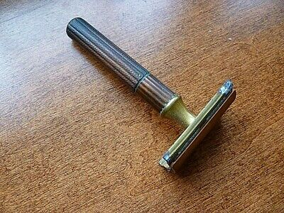 Vintage Gillette Safety Razor, Double-Edged Blade, 1930's or 1940's