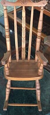 Awesome Moroccan Hand Made Moving Antique Mosaic Inlay Wood Chair