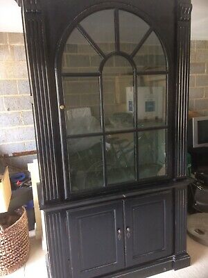 one amazing astral glazed cabinet bookcase cupboard