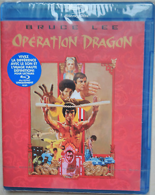 Blu Ray Bruce Lee Operation Dragon Neuf Sous Blister