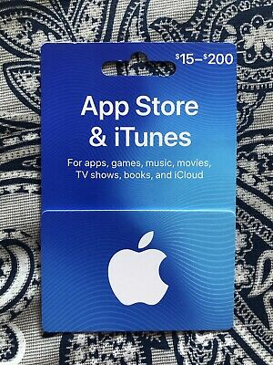 Apple App Store & iTunes $100 Physical Gift Card