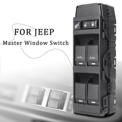 Master Power Window Switch Driver Side Left For Chrysler Dodge Jeep 4602781AA JB