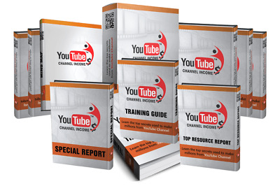 Youtube Channel Income eBook PDF with Full Master Resell Rights