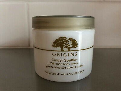 Origins Ginger Souffle Whipped Body Cream. 125Ml. Brand New And Sealed.