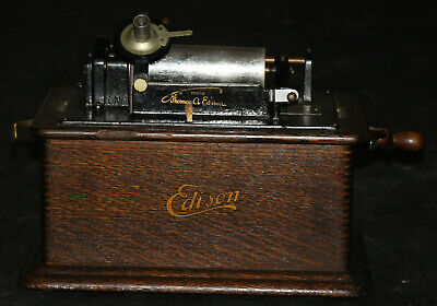 Edison Standard Model B Cylinder Phonograph - Good - SN 421115