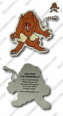 Werewolf Tag / Travel Bug for Geocaching - new, packaged + unactivated