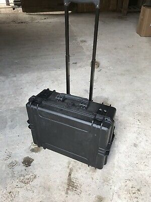BRAND NEW MAX505PUTR - Waterproof Tool Case with Extendable Handle & Wheels