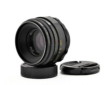 Helios 44-2  58mm F/2 Lens For Zenit M42 mount made in USSR S/N 79173594
