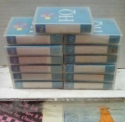 DIC DIGITAL HQ Series 30 Minutes Sealed Tapes Collection
