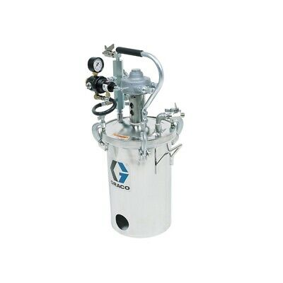 2 Gallon Low Pressure (HVLP) Pot w/ Agitator, Regulated to 15 psi, ASME Rated,