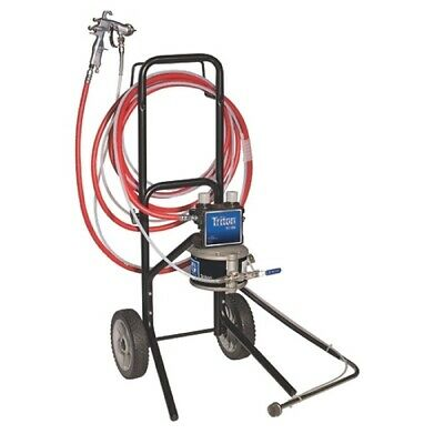 GRACO 289640 Triton Alum Spray pk w/AirPro Conventional Stain Spray Gun Cart