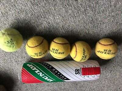 5 Used Tennis Balls Great For Dogs