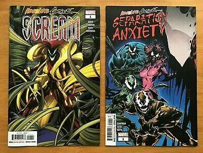 Scream 1, Separation Anxiety 1 Gerardo Sandoval Main Cover + Philip Tan VAR NM