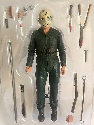 "NECA Ultimate Roy Burns Friday the 13th Part 5 7"" Scale Action Figure LOOSE"
