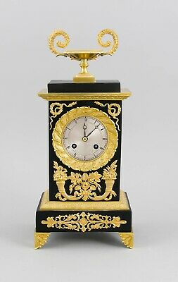 IN BERLIN  French C.1820 Empire style Charles X clock