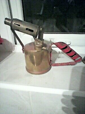 Vintage Paraffin Blow Lamp British Monitor No 24 A