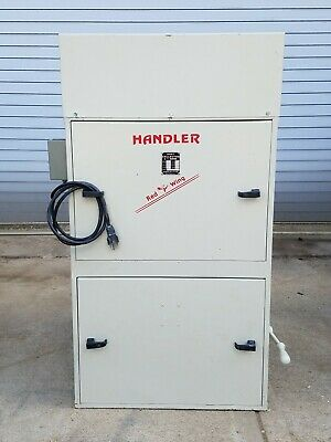 Handler Red Wing 101 24 Bag Dust Collector 800 CFM 1 HP 220VAC Single Phase