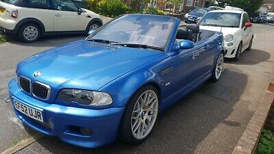 E46 M3, Estoril Blue Cabriolet, Supercharged, Meth injected 550HP. Spares repair