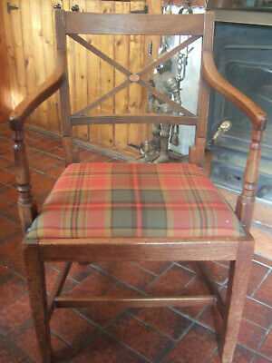 Lovely Antique Victorian Mahogany Carver Chair