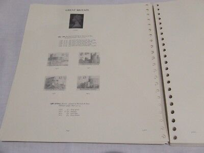 Stanley Gibbons Windsor Sovereign Gb Definitive Stamp Album Leaves 1982-90