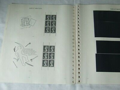 Stanley Gibbons Windsor Great Britain Stamp Album Pages Prestige Panes 1991-99