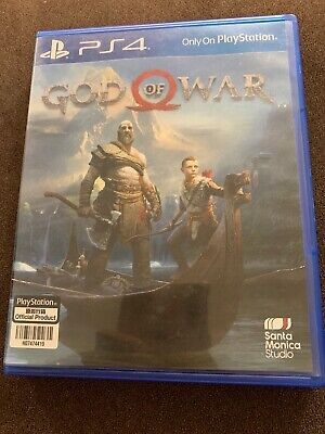God of War PS4 (Sony PlayStation 4, 2018) Play Station