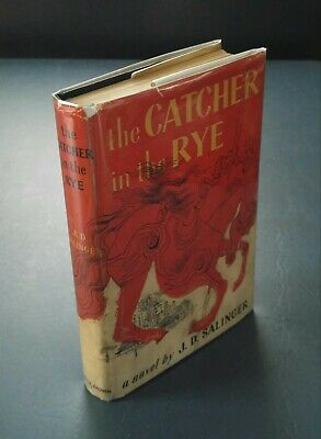 J.D. SALINGER - THE CATCHER IN THE RYE - First Edition/13th Printing 1952 HC/DJ