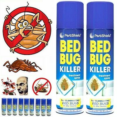 Bed Bug Killer Treatment Spray Clean Carpet Mattress Bug Flea Insect Kills Spray