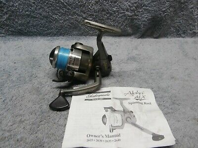 SHAKESPEARE AMPHIBIAN SPINNING Reel, AMPH30-P, Excellent
