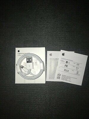 10 Pack Of Original Charger For Apple iPhone  USB Lightning Cable OEM Genuine