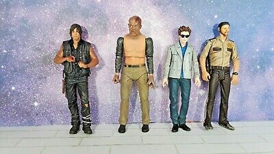 AMC Walking Dead Friday The 13th Jason Twilight Edward Action Figure Lot NECA
