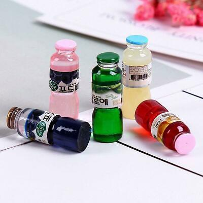1pc DOLLS HOUSE miniature Wine Whisky drinking props drinking BOTTLES 1/12TH
